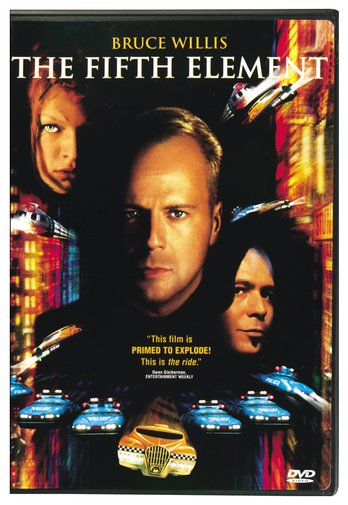 FIFTH ELEMENT BY WILLIS,BRUCE (DVD)